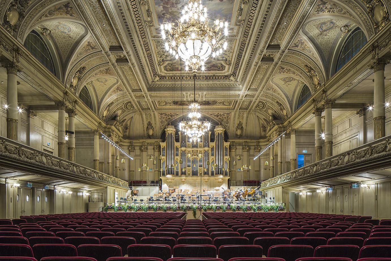 Tonhalle Zurich - right next to Neues Schloss Privat Hotel Zurich