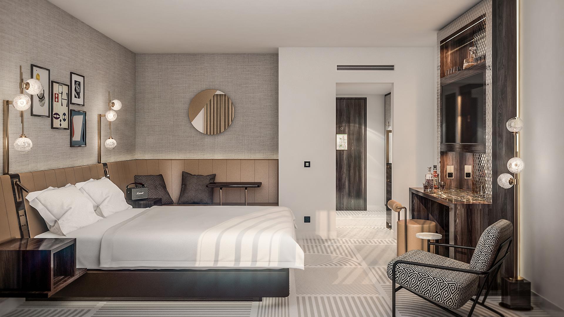 Deluxe Guest Room at Neues Schloss Privat Hotel Zürich