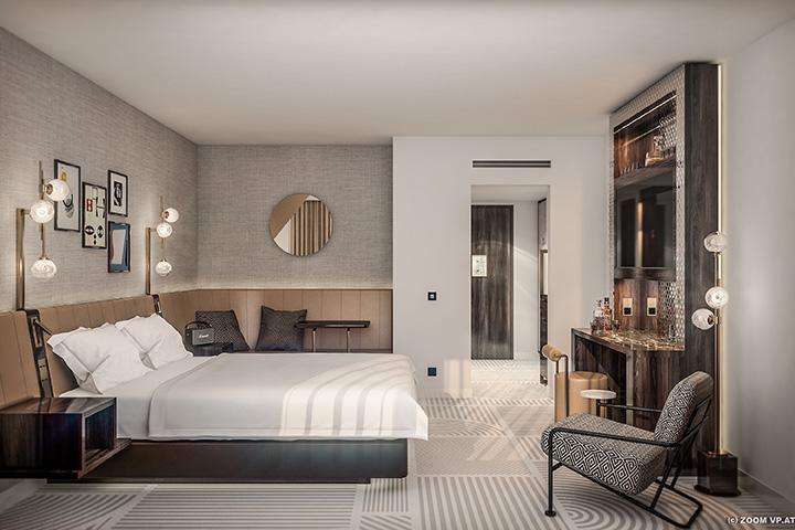 Superior Zimmer im Neues Schloss Privat Hotel Zürich